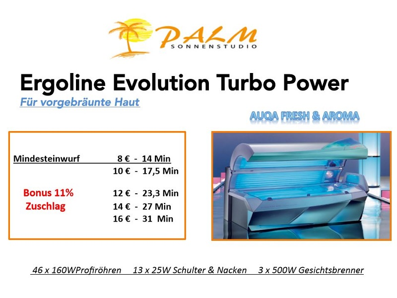 Ergoline Evolution Turbo Power