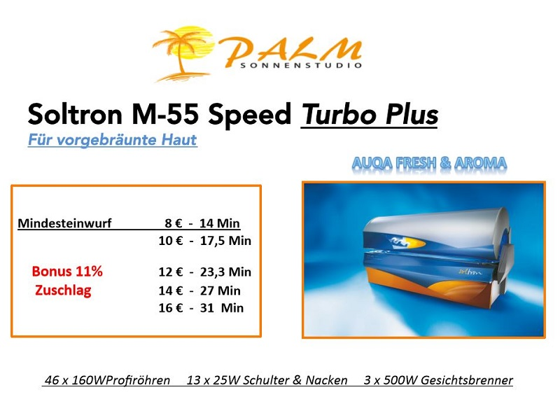 Soltron M55 Speed Turbo Plus